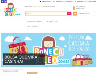 bonecacleo.com.br screenshot
