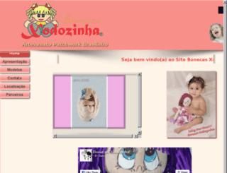bonecasxodozinha.com.br screenshot
