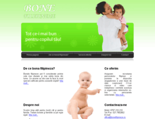 bonefilipineze.ro screenshot