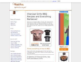 bonfeu-bbq.com screenshot
