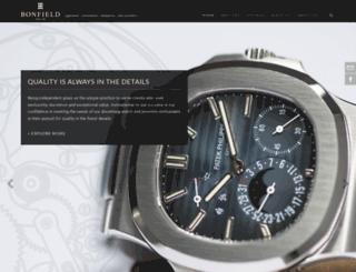 bonfield.com.sg screenshot