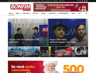 bonfimnoticias.com screenshot