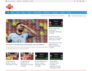 bongda16.com screenshot