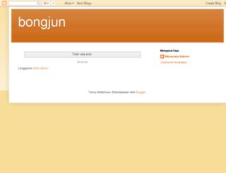 bongjun.blogspot.com screenshot