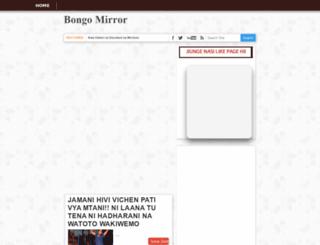 bongomirror.blogspot.com screenshot