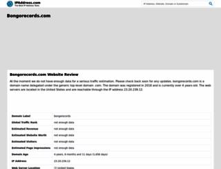 bongorecords.com.wenotify.net screenshot