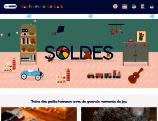 bonhommedebois.com screenshot