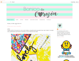 bonicodecorazon.blogspot.com screenshot