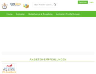 boniking.de screenshot