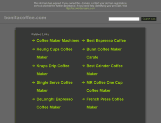 bonitacoffee.com screenshot
