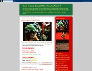 bonitajamaica.blogspot.fr screenshot