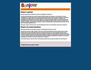 bonjour.nl screenshot