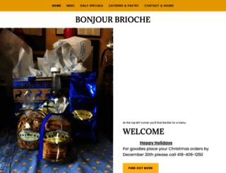 bonjourbrioche.com screenshot