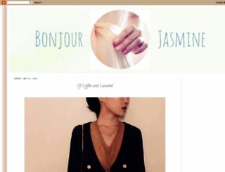 bonjourjasmine.blogspot.tw screenshot