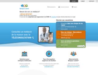 bonjoursante.com screenshot