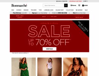 bonmarche.co.uk screenshot