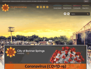bonnersprings.org screenshot