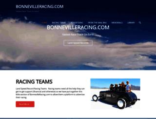 bonnevilleracing.com screenshot