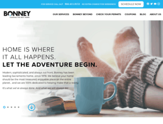 bonneyplumbing.com screenshot