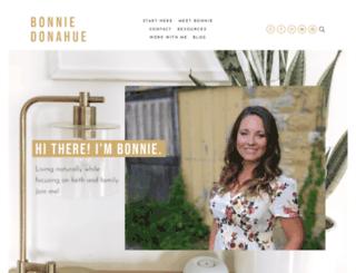 bonniedonahue.com screenshot