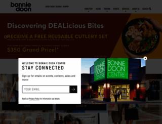 bonniedoonshoppingcentre.com screenshot