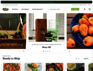 bonnieplants.com screenshot