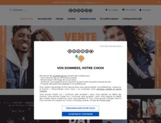 bonobojeans.com screenshot