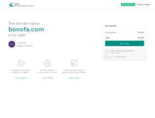 bonofa.com screenshot