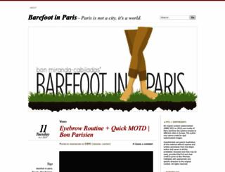 bonparisien.wordpress.com screenshot