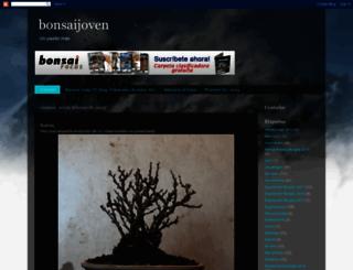 bonsaijoven.blogspot.be screenshot