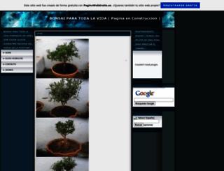 bonsaiolivo.es.tl screenshot
