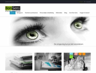 bonsenseffectiefcommuniceren.nl screenshot