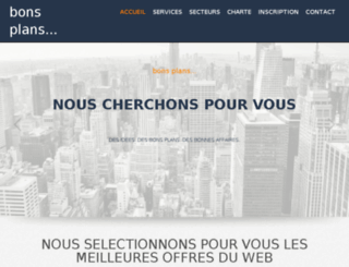 bonsplans.e-bamboo.fr screenshot
