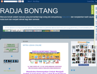 bontangkutai.blogspot.com screenshot