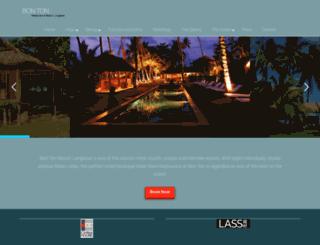 bontonresort.com screenshot