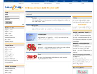bonus-more.de screenshot