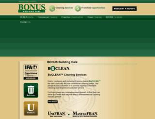 bonusbuildingcare.com screenshot