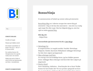 bonusninja.net screenshot