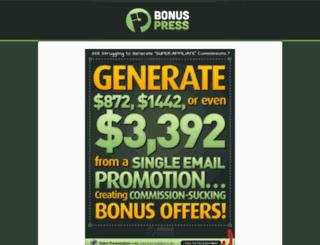 bonuspress.com screenshot