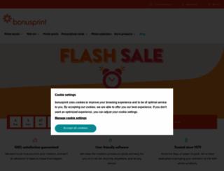 bonusprint.co.uk screenshot