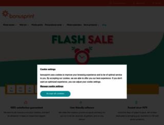 bonusprint.com screenshot