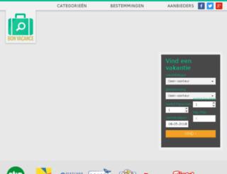 bonvacance.nl screenshot
