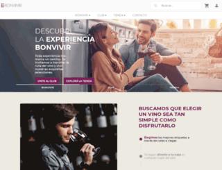 bonvivir.com screenshot