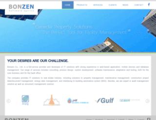 bonzen.co.th screenshot