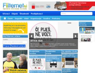 bonzur.si screenshot