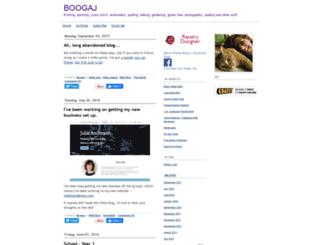 boogaj.typepad.com screenshot