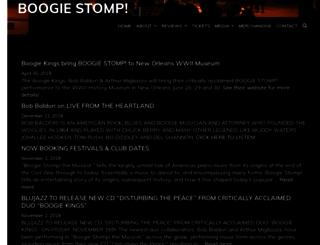 boogiestomp.com screenshot