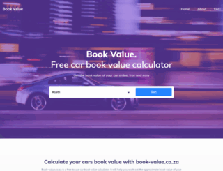 book-value.co.za screenshot