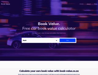 book-value.co.za screenshot