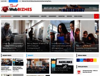 book-webbiznes.com screenshot